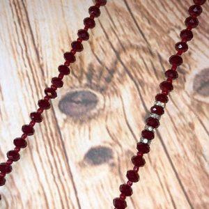 Banana Republic Jewelry - Banana Republic Pavé & Crystal Beaded Necklace